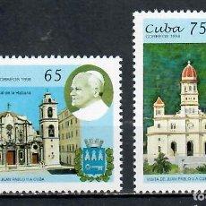 Sellos: 4095 CUBA 1998 MNH PAPAL VISIT. Lote 226323668