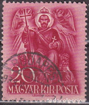 1938 - HUNGRIA - CENTENARIO DE SAN ESTEBAN - YVERT 497 (Sellos - Temáticas - Religión)