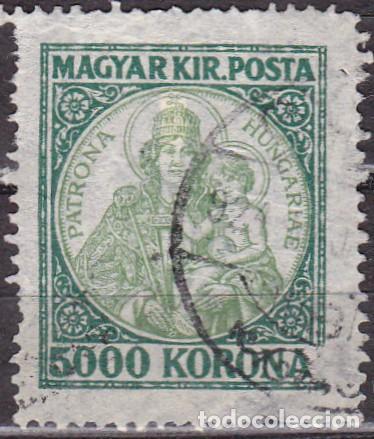 1923 - HUNGRIA - SANTA ISABEL PATRONA DE HUNGRIA - YVERT 366 (Sellos - Temáticas - Religión)