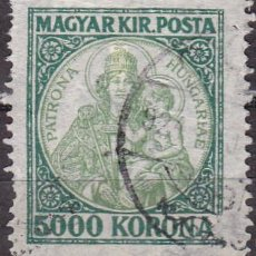 Sellos: 1923 - HUNGRIA - SANTA ISABEL PATRONA DE HUNGRIA - YVERT 366. Lote 236494515
