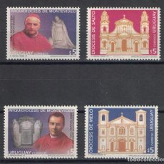 Sellos: UY2248 URUGUAY 1997 MNH DIOCESES. Lote 236772435