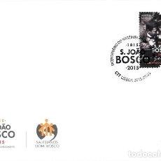 Sellos: PORTUGAL & FDC BICENTENARIO DEL NACIMIENTO DE S. JOÃO BOSCO 1815-2015 (1). Lote 241729065