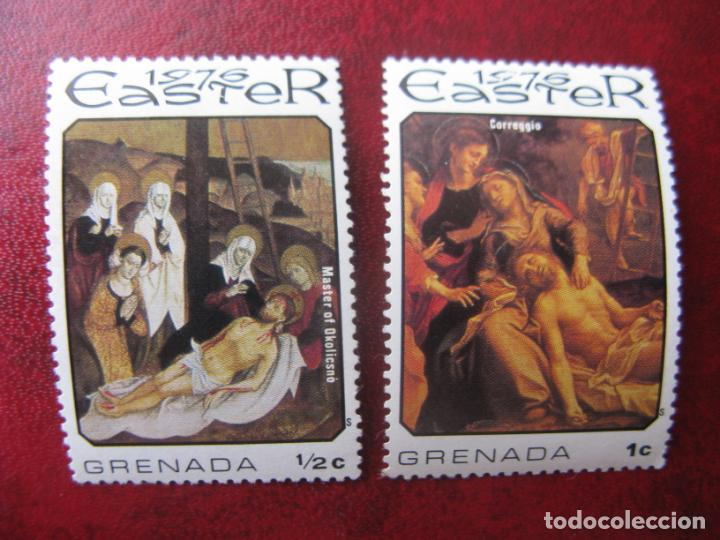 *GRENADA, PASCUA DE 1976 (Sellos - Temáticas - Religión)