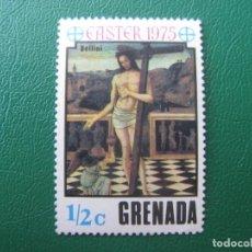 Sellos: *GRENADA, PASCUA DE 1975. Lote 243916315