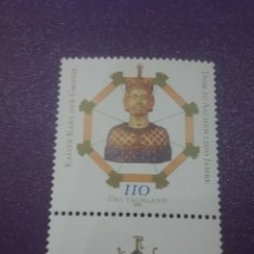 Sellos: SELLO ALEMANIA. R. FEDERAL NUEVO/2000/1200ANIV/CATEDRAL/AACHEN/CARLOMARGO/MILITAR/SOLDADO/RELIGION/C. Lote 244429820