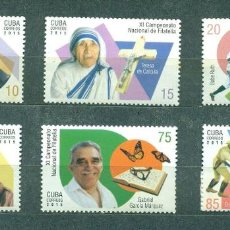 Sellos: ⚡ DISCOUNT CUBA 2015 THE 11TH NATIONAL STAMP EXHIBITION MNH - CELEBRITIES, AIRCRAFT, FOOTBAL. Lote 253831445