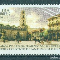 Sellos: ⚡ DISCOUNT CUBA 2014 THE 20TH ANNIVERSARY OF THE CONVENTO OF SAN FRANCISCO DE ASIS MNH - ARC. Lote 253844280