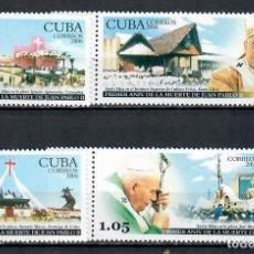 Sellos: ⚡ DISCOUNT CUBA 2006 POPE JOHN PAUL II, 1920-2005 MNH - CHURCHES, RELIGION, POPE, CHRISTIANI. Lote 255622545
