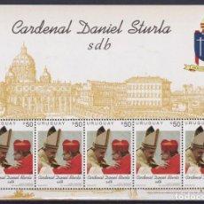 Sellos: ⚡ DISCOUNT URUGUAY 2015 CARDENAL DANIEL STURLA MNH - RELIGION. Lote 260532880