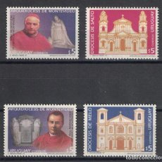 Sellos: ⚡ DISCOUNT URUGUAY 1997 DIOCESES MNH - CHURCHES, RELIGION. Lote 260584850