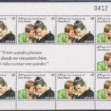 Sellos: ⚡ DISCOUNT URUGUAY 2015 THE 200TH ANNIVERSARY OF THE BIRTH OF SAINT JOHN BOSCO MNH - RELIGIO. Lote 260586035