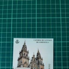 Sellos: ESPAÑA 2012 CATEDRALES SANTIAGO DE COMPOSTELA OBRADOIRO SANTO RELIGIÓN EDIFIL 4729 NUEVA O USADA. Lote 261557690