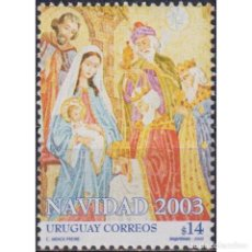 Sellos: ⚡ DISCOUNT URUGUAY 2003 CHRISTMAS MNH - RELIGION, CHRISTMAS. Lote 270389983