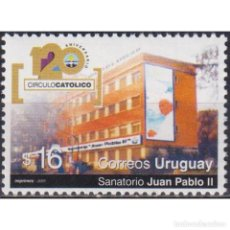 Sellos: ⚡ DISCOUNT URUGUAY 2005 THE 120TH ANNIVERSARY OF THE CATHOLIC WORKERS MOVEMENT IN URUGUAY MNH. Lote 270390218