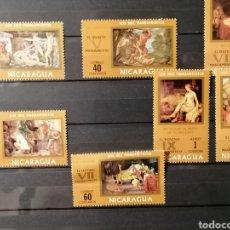 Timbres: NICARAGUA SERIE LOS 10 MANDAMIENTOS NUEVO ***. Lote 274304643