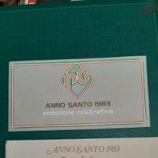 Sellos: 1983 ITALIA AÑO SANTO EMISIÓN OFICIAL MATASELLO. Lote 276368073
