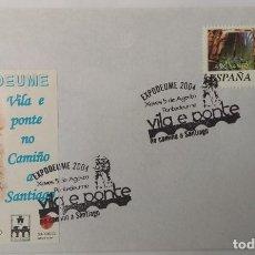 Sellos: LOTE DE 14 SOBRES CIRCULADOS CON MATASELLOS JACOBEOS, ALBERGUES. VER FOTOS. Lote 277263963