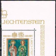 Sellos: LIECHTENSTEIN IVERT Nº 675, SAN LUCIEN Y SAN FLORIAN FRESCO DE WALTTENSBURG, NUEVO***. Lote 278971143