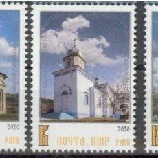 Sellos: TRANSNISTRIA (MOLDAVIA) 2020 - IGLESIAS CRISTIANAS ORTODOXAS - NUEVOS MNH. Lote 288159413