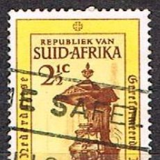 Sellos: SUDAFRICA Nº 344, 3º CENTENARIO DE LA IGLESIA REFORMADA HOLANDESA EN SUDÁFRICA, USADO. Lote 288399058