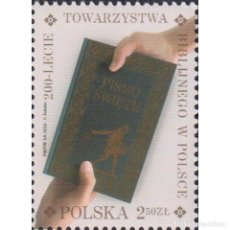 Sellos: ⚡ DISCOUNT POLAND 2016 THE 200TH ANNIVERSARY OF THE BIBLICAL SOCIETY IN POLAND MNH - BOOKS,. Lote 289987238