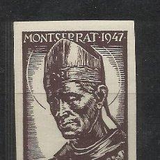 Sellos: MONTSERRAT 1947 SAN BENEDICTUS OLIVA DE VILANOVA 25 CTS NUEVO***. Lote 294386428