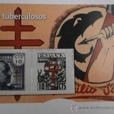 Sellos: REPRODUCCION DE SELLOS AUTORIZADA PRO TUBERCULOSOS SELLO-5. Lote 31612526