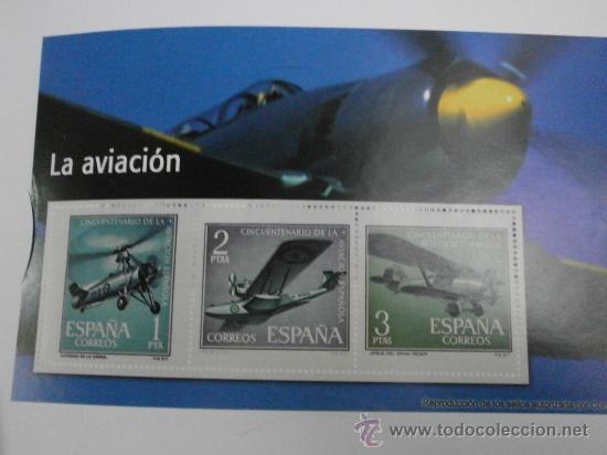 REPRODUCCION DE SELLOS LA AVIACION SELLOS-34 (Filatelia - Sellos - Reproducciones)