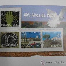 Sellos: REPRODUCCION DE SELLOS XXV AÑOS DE PAZ I SELLO-43. Lote 31613175