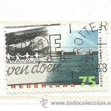Selos: HOLANDA 1986. OLEADA DE TORMENTA DE REPRODUCCIÓN FOTOGRÁFICA. Lote 40842031