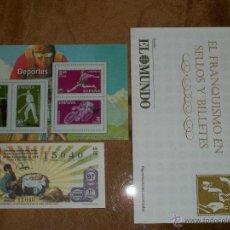 Sellos: EL FRANQUISMO EN SELLOS Y BILLETES. Lote 40909051