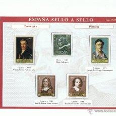 Briefmarken - ESPAÑA SELLO A SELLO. COLECCIONABLE. EL PAÍS-BBVA. ENTREGA Nº 51. - 41097531