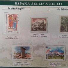 Sellos: ÁLBUM DE SELLOS DESDE 1850/ 2003 DE 330 SELLOS. Lote 41709029