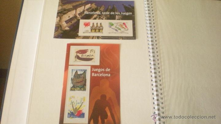 REPRODUCCIONES SELLOS JUEGOS OLIMPICOS DE BARCELONA (Filatelia - Sellos - Reproducciones)