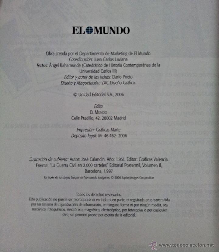 Sellos: EL FRANQUISMO EN SELLOS Y BILLETES. ÁLBUM . 40 AÑOS DE LA HISTORIA DE ESPAÑA - Foto 3 - 49449405