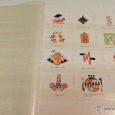 Sellos: COLECCION DE 140 ESCUDOS DIFERENTES DE BARCELONA EDICION AÑOS 80 FILATELIA SELLOS. Lote 50484005