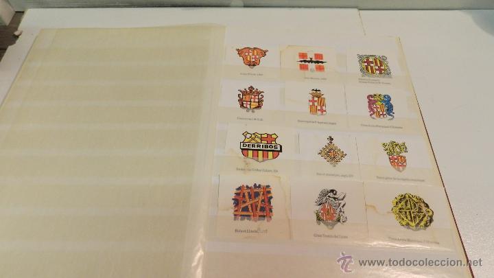 Sellos: COLECCION DE 140 ESCUDOS DIFERENTES DE BARCELONA EDICION AÑOS 80 - Foto 5 - 50484005