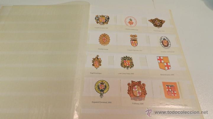 Sellos: COLECCION DE 140 ESCUDOS DIFERENTES DE BARCELONA EDICION AÑOS 80 - Foto 6 - 50484005