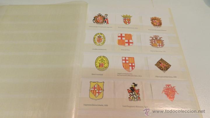 Sellos: COLECCION DE 140 ESCUDOS DIFERENTES DE BARCELONA EDICION AÑOS 80 - Foto 8 - 50484005