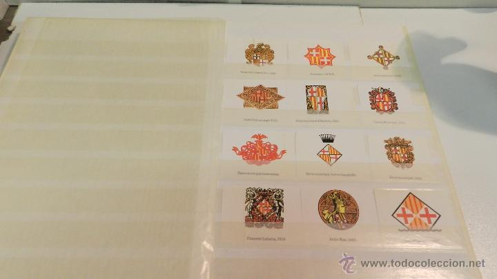 Sellos: COLECCION DE 140 ESCUDOS DIFERENTES DE BARCELONA EDICION AÑOS 80 - Foto 11 - 50484005