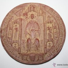 Sellos: M-414. FACSÍMIL DE SELLO DE MARTIN I EL HUMANO (1399) - MUSEU D'HISTORIA DE BARCELONA - 1977. Lote 40890784