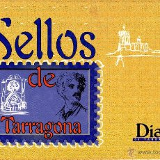 Sellos: . SELLOS DE TARRAGONA DIARI DE TARRAGONA COLECCION 18 SELLOS DE PLATA . Lote 54734382