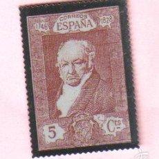 Sellos: SELLO REPRODUCCION EN METAL - ESPAÑA 5 CTS - 1746-1828 FRANCISCO GOYA. Lote 55921987