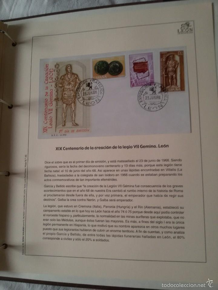 Sellos: COLECCIÓN LOS SELLOS DE LEÓN-REPRODUCCIÓN FACSIMIL DE LOS SELLOS-COMPLETA - Foto 7 - 244557435