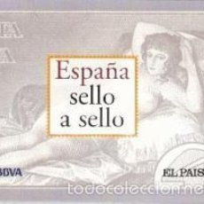 Sellos: ESPAÑA SELLO A SELLO (BBVA / EL PAÍS). COMPLETO CON 330 SELLOS. Lote 58550733