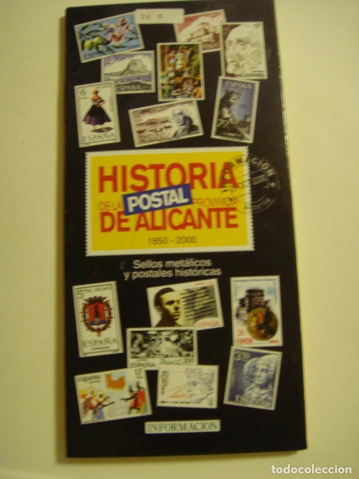 HISTORIA POSTAL DE ALICANTE, REPRODUCCIÓN (Filatelia - Sellos - Reproducciones)