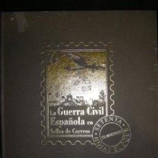 Briefmarken - album de LA GUERRA CIVIL ESPAÑOLA EN SELLOS DE CORREOS. solo el album - 72270759