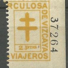 Briefmarken - SELLO CONMEMORATIVO. VIZCAYA. 2 PESETAS - 79956601