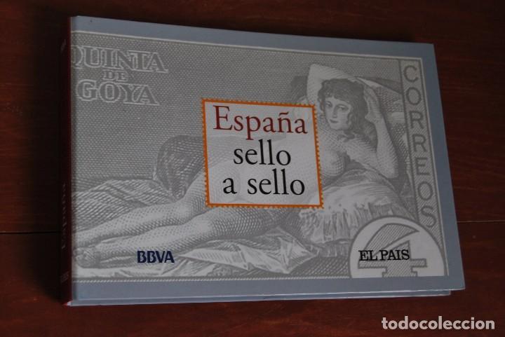 ESPAÑA SELLO A SELLO - EL PAÍS - BBVA - COLECCIÓN FILATÉLICA REPRODUCIDA - COMPLETA (Filatelia - Sellos - Reproducciones)