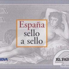 Briefmarken - ESPAÑA SELLO A SELLO. COLECCIÓN EDITADA POR EL PAÍS Y BBVA. ESPAÑA 2003. COMPLETA CON 330 SELLOS. - 114372699